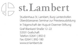Studienhaus St. Lambert, Burg Lantershofen
